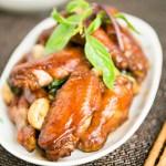 台湾琥珀三杯鸡翅