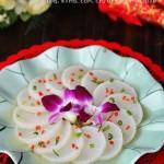 零难度的鸡汁萝卜片(春节家宴菜)