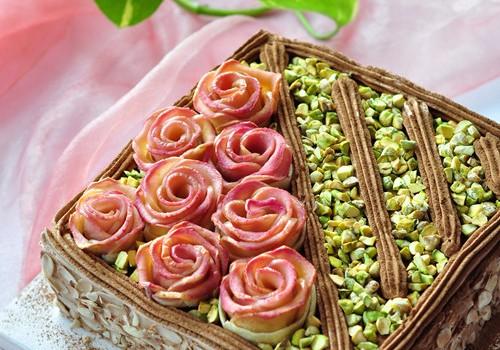 开心果蛋糕(早餐菜谱)