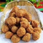 干炸羊肉丸(新疆春节家宴菜—团团圆圆)