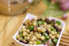 豌豆芡实煲