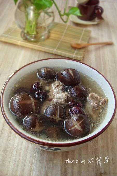 蛏子男人排骨汤(电压力锅菜谱)红枣可以吃香菇吗图片