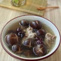 香菇紅棗排骨湯