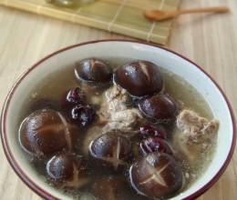 香菇红枣排骨汤