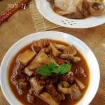 牛肉菌菇煲