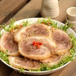 象征团团圆圆的捆蹄儿(春节家宴菜)