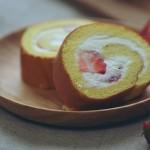草莓小山卷(甜品点心)