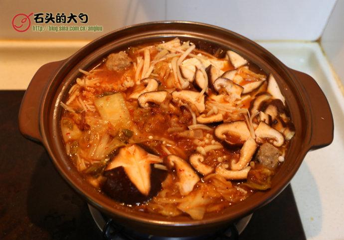 泡菜肥牛火锅
