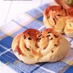 培根乳酪面包(早餐菜谱)