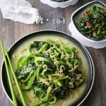 芝麻枸杞拌菠菜(春季养肝多吃菠菜)