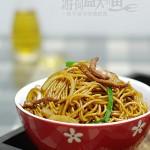 广式豉油皇炒面(早餐菜谱)