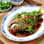 白萝卜烧鲳鱼