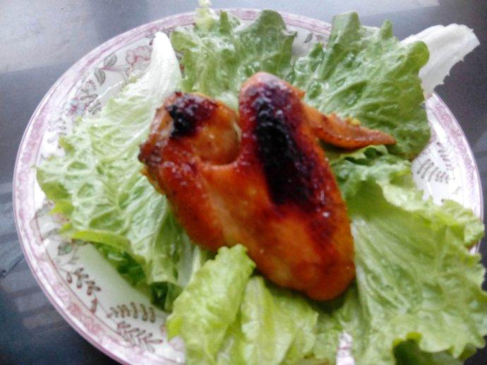 五香烤鸡翅