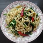 韭菜炒千张(10分钟快手塑身菜)