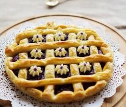 千层紫薯派