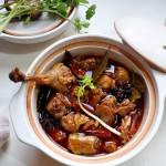 红油酱汁焖鸭