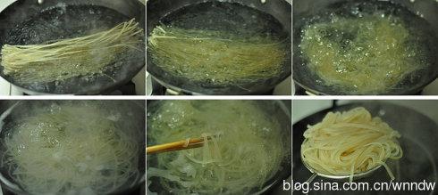 甘肃粉皮拌菠菜