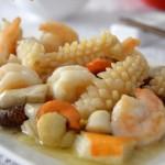 全爆(津门节日家宴上的一道特色海鲜大菜)