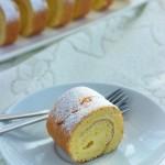 原味蛋糕卷(早餐菜谱)