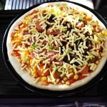 香肠披萨(早餐菜谱)