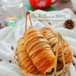 紅豆沙面包卷(早餐菜譜)