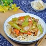 新疆风味拉条子(早餐菜谱)