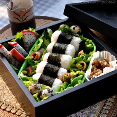 海苔饭团便当