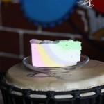 彩虹芝士蛋糕(甜品点心)