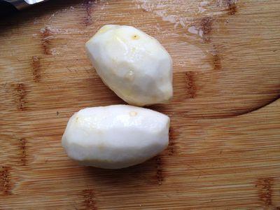 剁椒蒸芋子小排