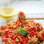 剁椒蒸芋子小排(清蒸菜)