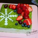 抹茶奶油蛋糕(甜品点心)