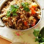 羊肉抓饭(营养美味省时省力的饭菜一锅出)