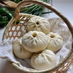 香干芹菜鲜肉包子(早餐菜谱)