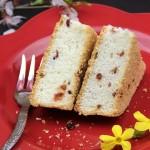蔓越莓天使蛋糕(早餐菜谱)