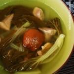小白菜瘦肉汤(春季润肺止咳老火汤)