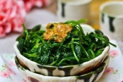 蒜泥芹菜叶