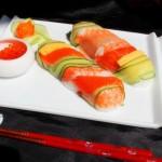 简单制作彩虹般美丽的寿司(郊游便当菜谱)