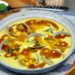 蛤蜊蛋羹(3元钱打造五星级海鲜蛋羹)