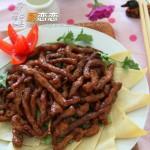京酱肉丝(京味家常菜)