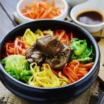 韩式排骨拌饭(韩国料理)