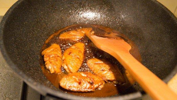 黑胡椒风味鸡翅