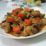 红萝卜炒鸡丁