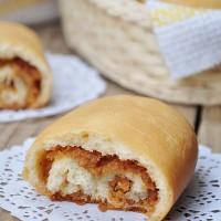 低粉花生醬面包卷
