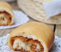 低粉花生酱面包卷