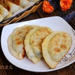 烫面荠菜鸡蛋盒子饼(早餐菜谱)