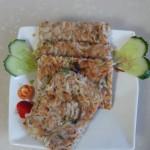 电饼铛烙虾饼(补钙状元菜)