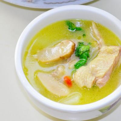 松茸老鸭汤