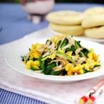 小白虾炒韭菜(春季鲜掉眉毛的的补钙菜)