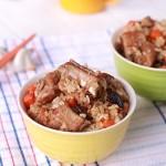 排骨香菇焖饭(电饭锅菜谱)