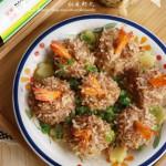 红米虾丸(清蒸菜)